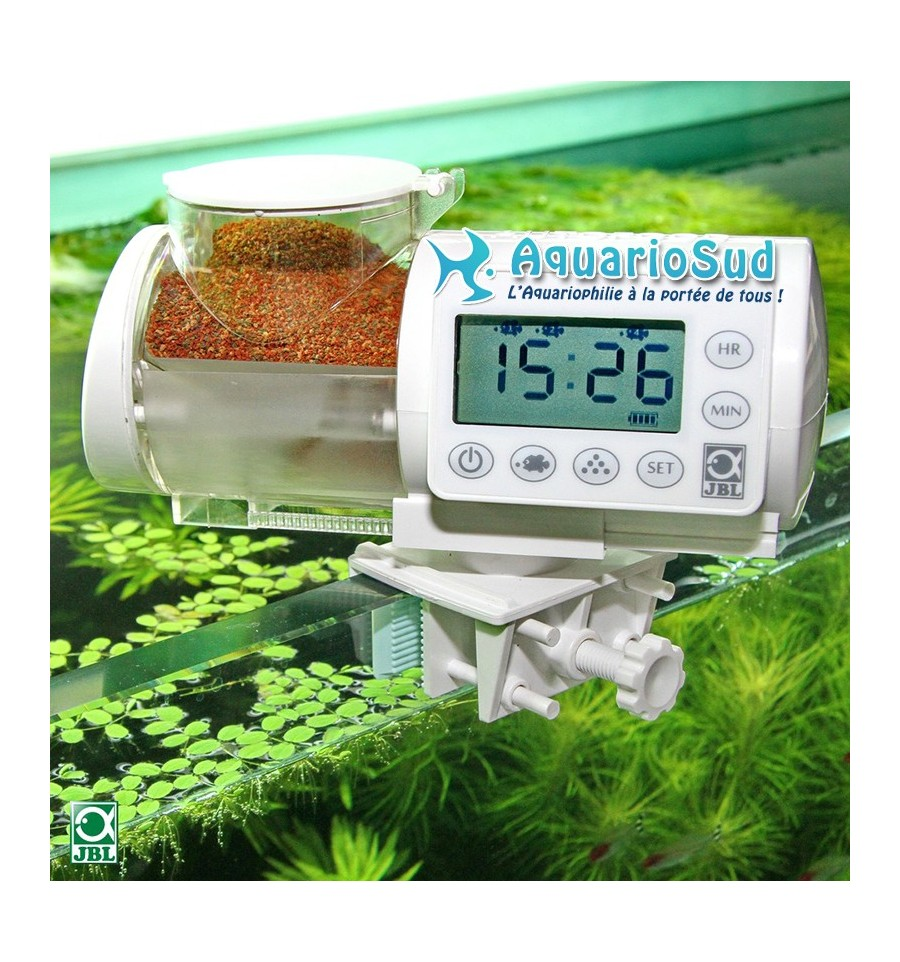 Distributeur automatique de nourriture jbl autofood blanc for Nourriture aquarium